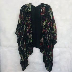 VIVANTE BY VSA Floral Kimono